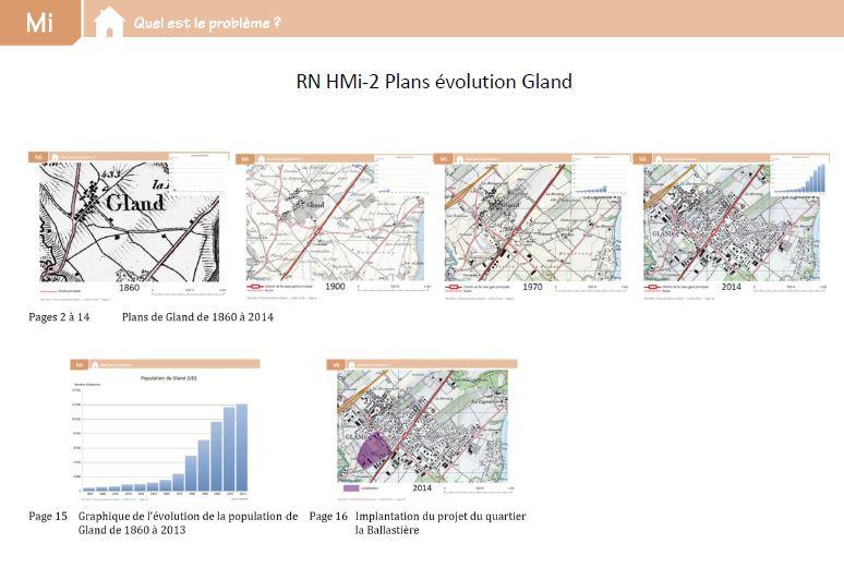Preview image for LOM object Plans de l'évolution de Gland